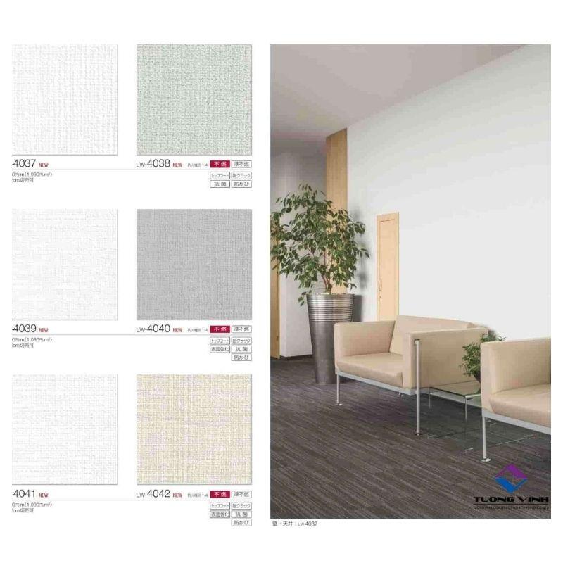 Giấy dán tường Nhật Bản Will - Lilycolor LW4037 - 4042