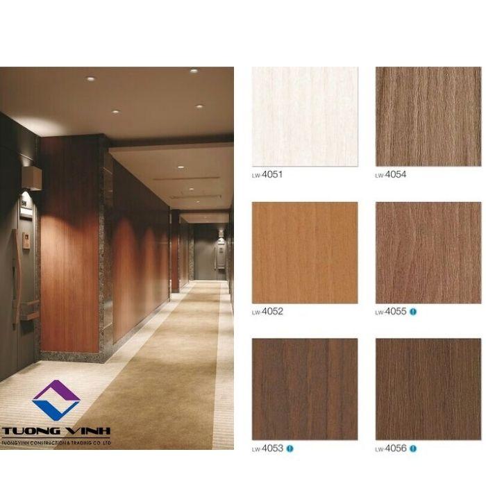 Giấy dán tường Nhật Bản Will - Lilycolor LW4051 - 4056