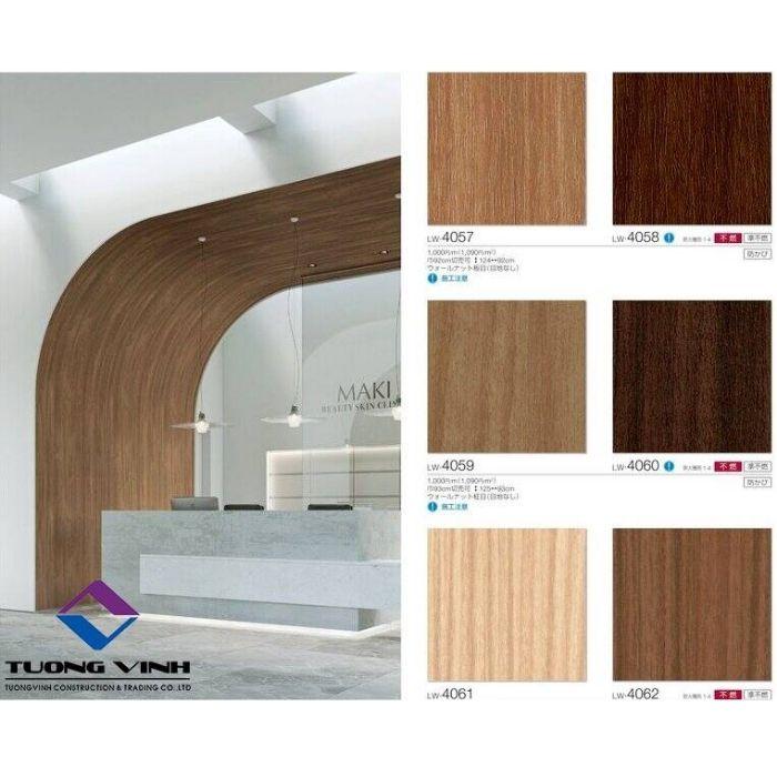 Giấy dán tường Nhật Bản Will - Lilycolor LW4057 - 4062