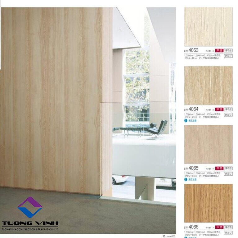 Giấy dán tường Nhật Bản Will - Lilycolor LW4063 - 4066