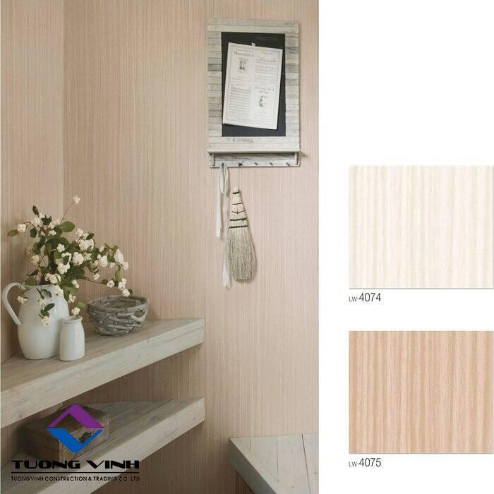Giấy dán tường Nhật Bản Will - Lilycolor LW4074 - 4075