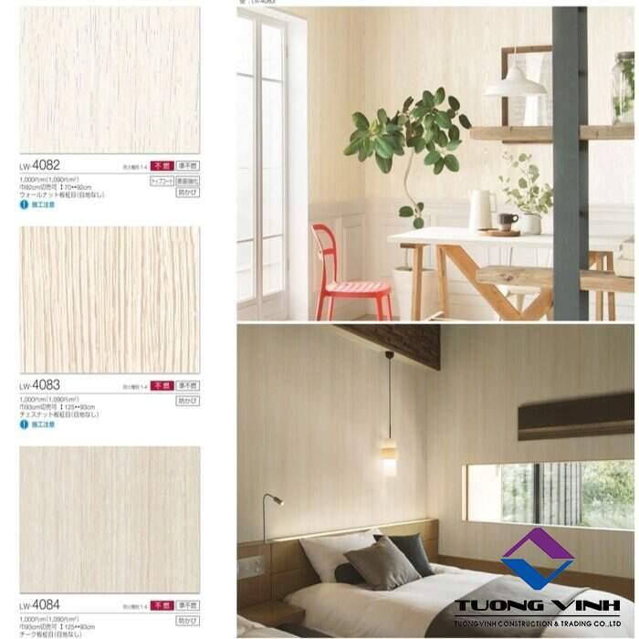 Giấy dán tường Nhật Bản Will - Lilycolor LW4082 - 4084