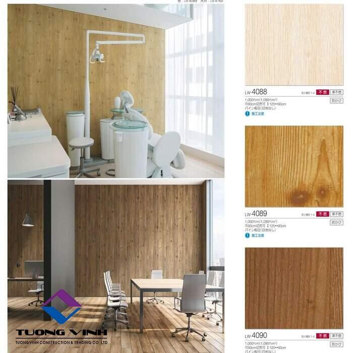 Giấy dán tường Nhật Bản Will - Lilycolor LW4088 - 4090