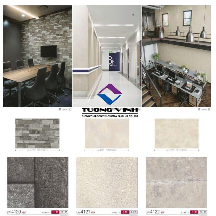 Giấy dán tường Nhật Bản Will - Lilycolor LW4120 - 4122