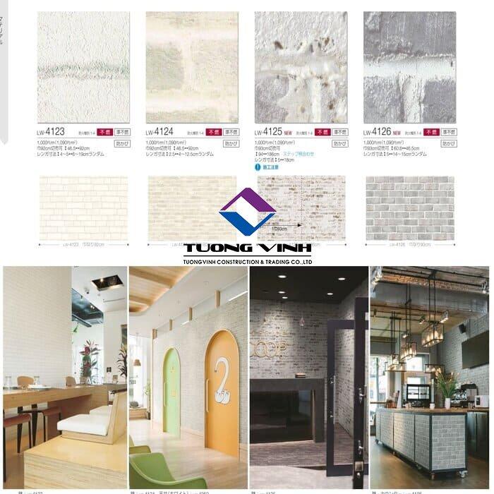 Giấy dán tường Nhật Bản Will - Lilycolor LW4123 - 4126
