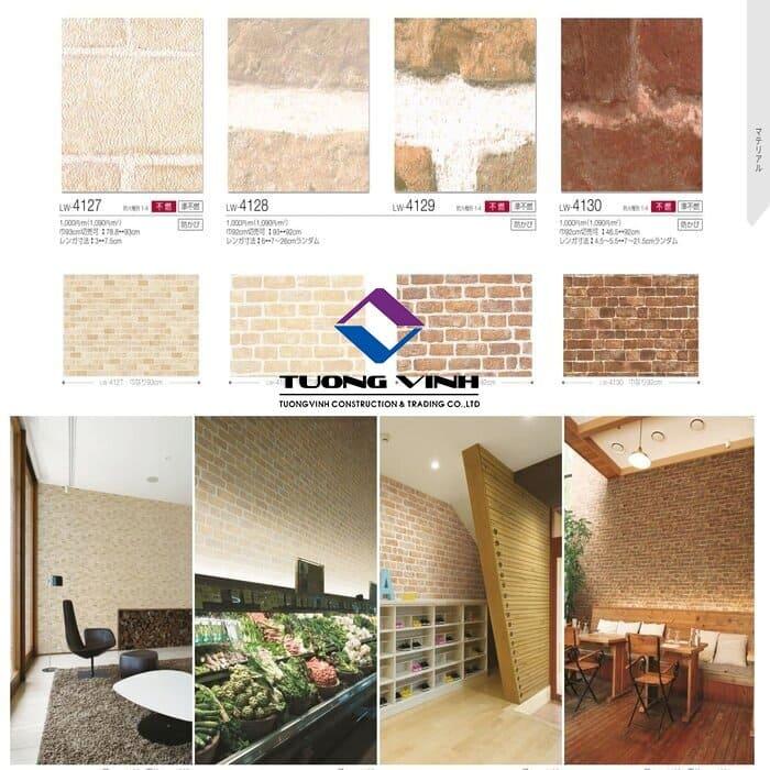 Giấy dán tường Nhật Bản Will - Lilycolor LW4127 - 4130