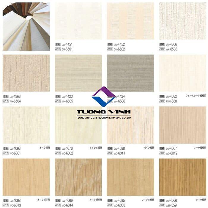 Giấy dán tường Nhật Bản Will - Lilycolor LW4063 - 4452