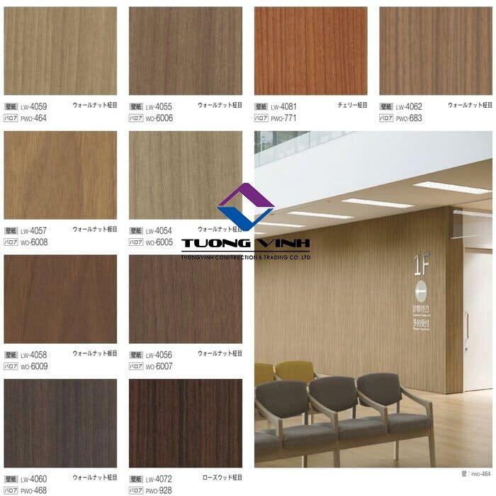 Giấy dán tường Nhật Bản Will - Lilycolor LW4054 - 4081